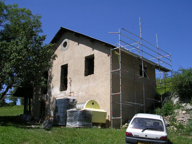 amenagement jardin facade maison