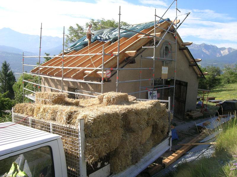isolant sous toiture
