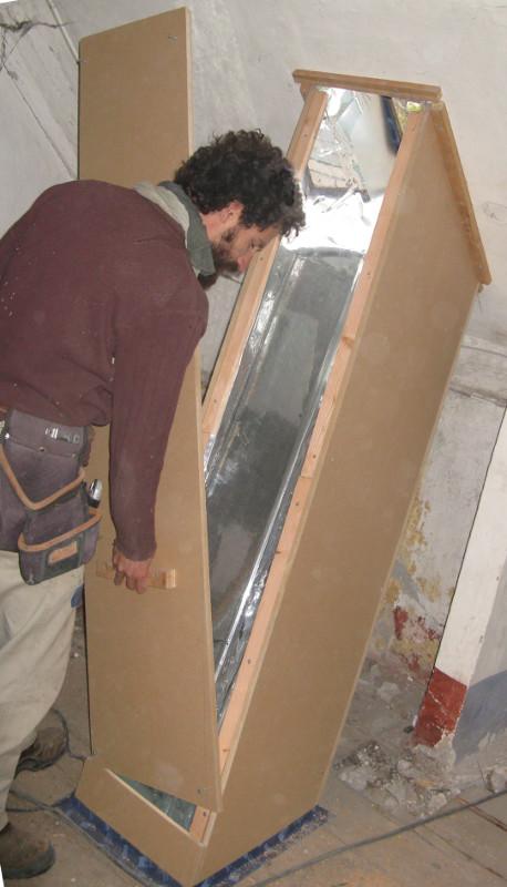 isolation en combles et puits de lumi re embrun de. Black Bedroom Furniture Sets. Home Design Ideas